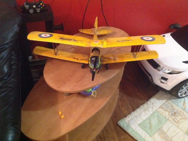 cox powered bipe restoration needed after 200 plus flight  Image133