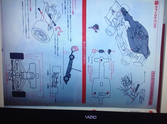 Scan Request: Kyosho .049 F1 Racer manual Image33