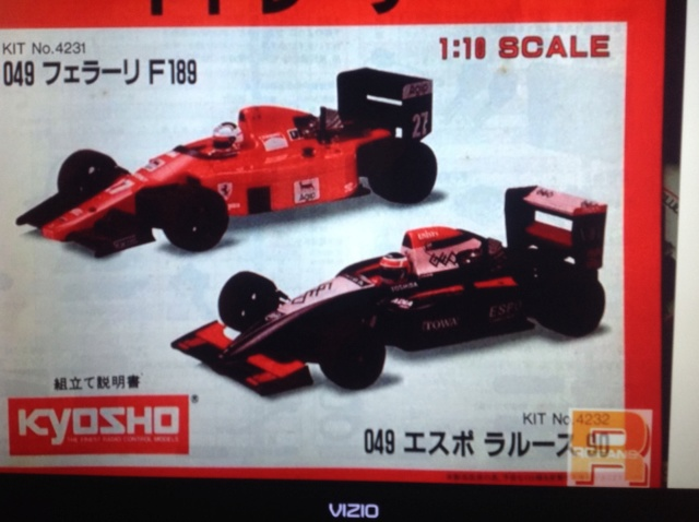 Scan Request: Kyosho .049 F1 Racer manual Image35