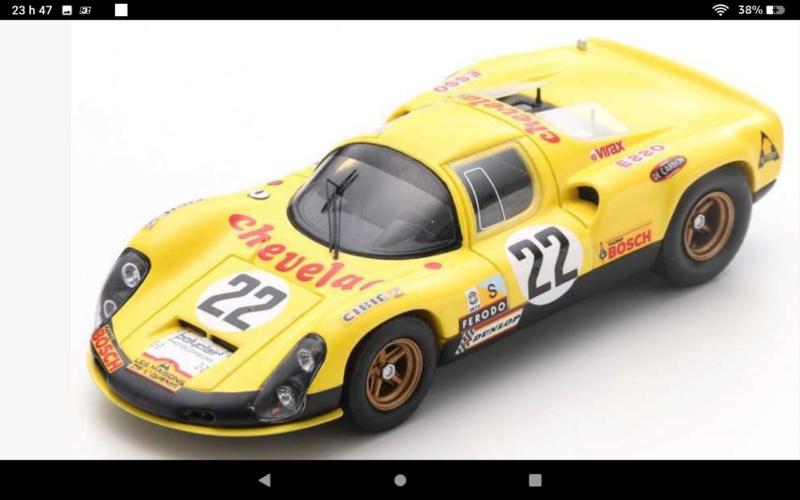 1972 jerobee  cox .049 1968  Porsche 910 Le Mans restoration Scree100