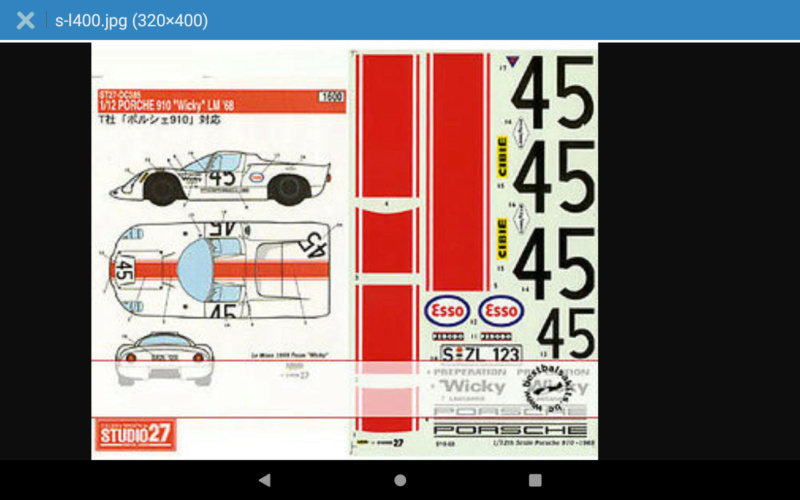 1972 jerobee  cox .049 1968  Porsche 910 Le Mans restoration Scree103