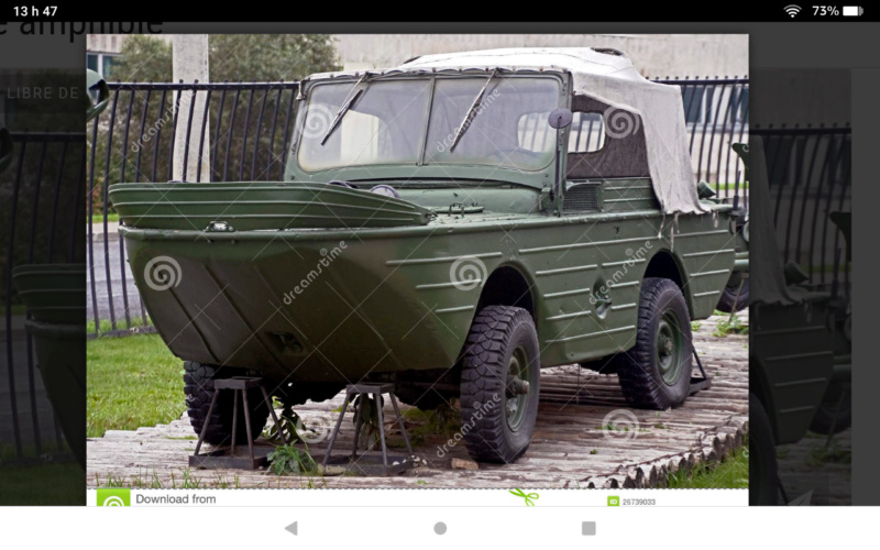Tinking of  build Amphibious vehicle with .049 engine Scree113