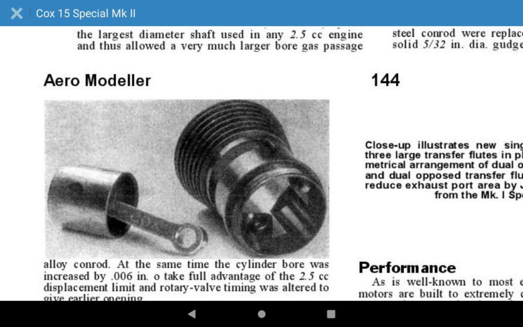 "Has anyone tried those ""Cox .049 Piston (Aluminum)""? Screen32"