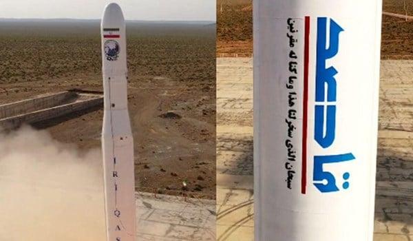 إيران تعلن عن إطلاقها أول قمر صناعي عسكري بنجاح 13990211