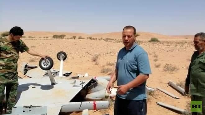 الجيش الليبي يسقط طائرتين تركيتين خلال 12 ساعة 5e99ae12