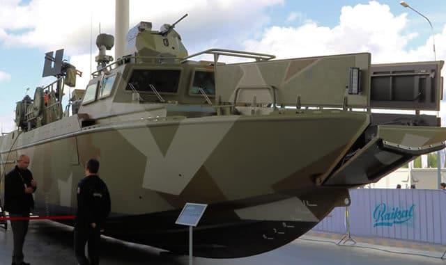 دولة أفريقية بصدد استلام قوارب عسكرية هجومية روسية Kalash10