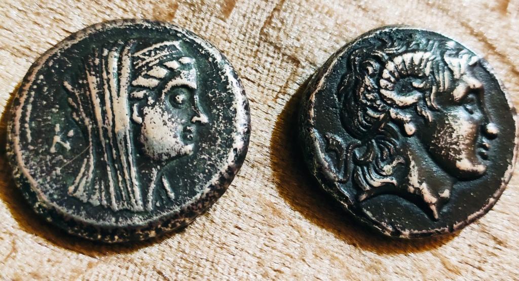 مسكوكات الامبراطور أنطونيوس يفضل قرائته  Img_ee14