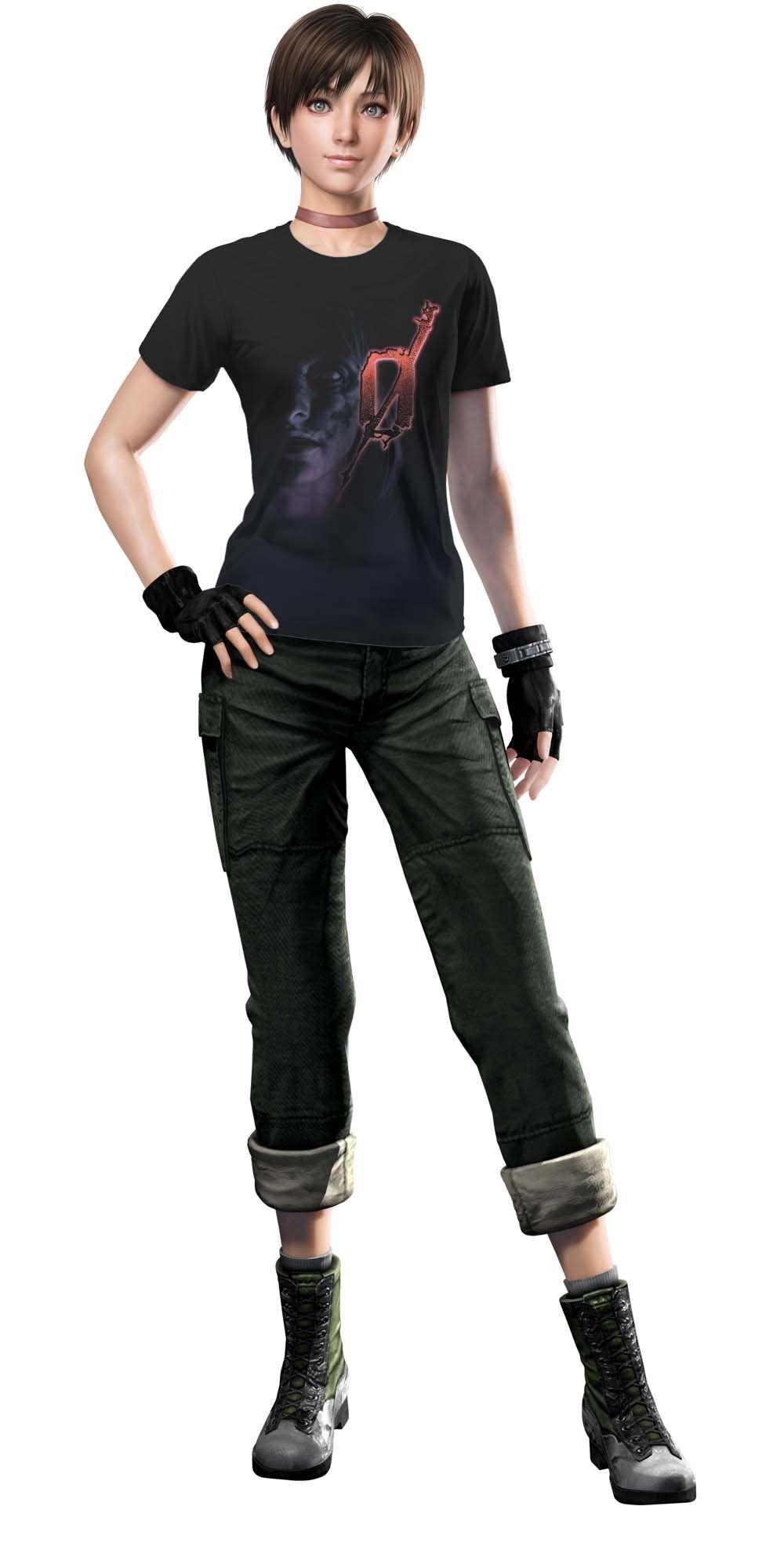 ¿Podría alguien hacer una mod de Rebecca con ropa casual para reemplazar a HUNK? 74abdd10