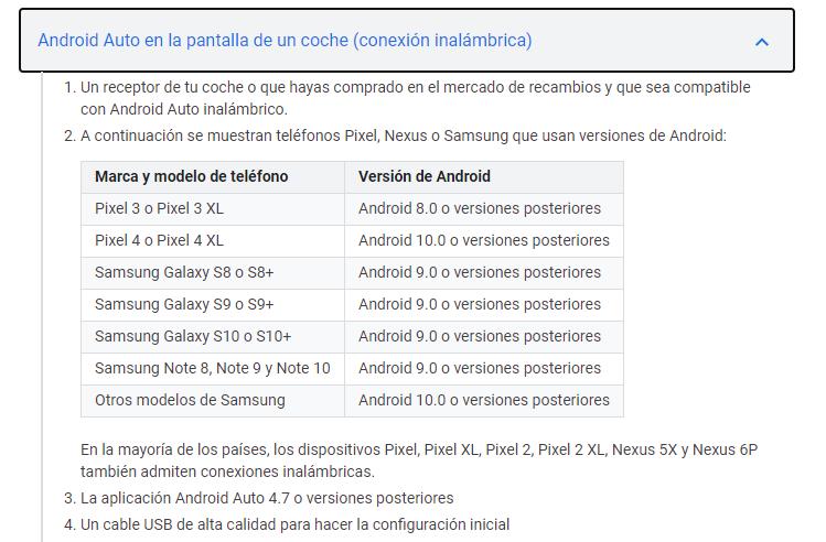 Android Auto inalambrico - Página 2 Anotac11