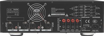 Conectar XLR y RCA simultáneamente a un amplificador Fonest10