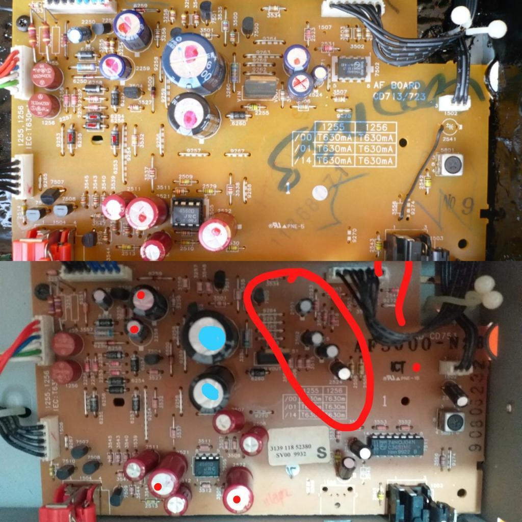 Tweaking di Marantz CD4000, CD5000, Philips CD753 - Pagina 3 Img-2011