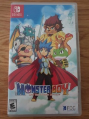 [Découverte] Monster Boy And The Cursed Kingdom 20200812