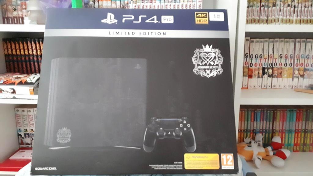 [EST] Console PS4 pro Edition KH 3 Boite_10