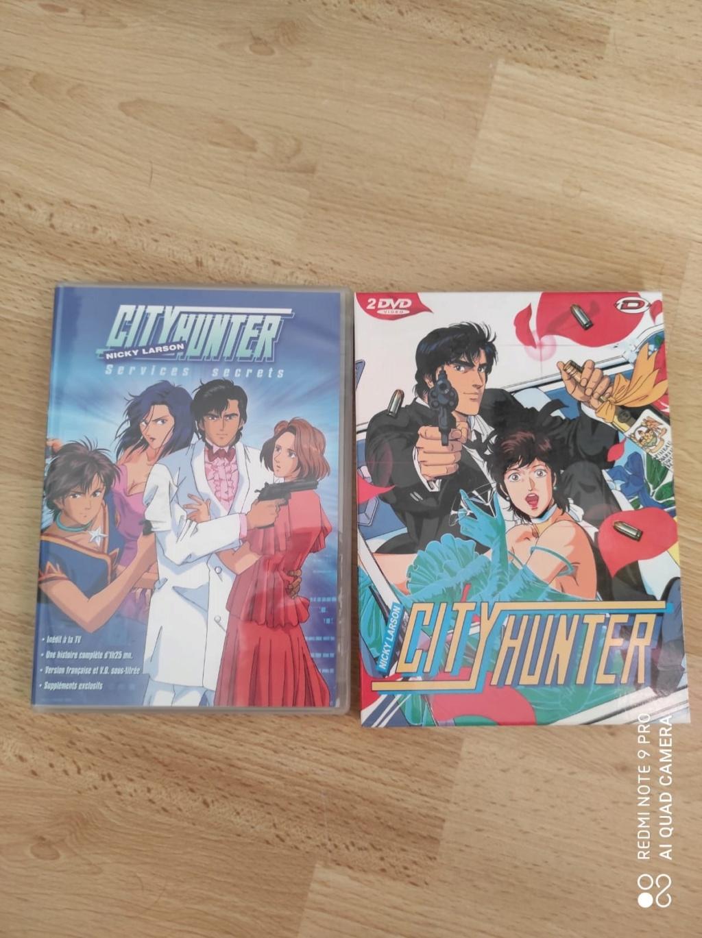 [VDS] Plusieurs lots dont intégrales séries tv/animes/dessins animes en dvd ou blu ray (voir descriptios) City_h12