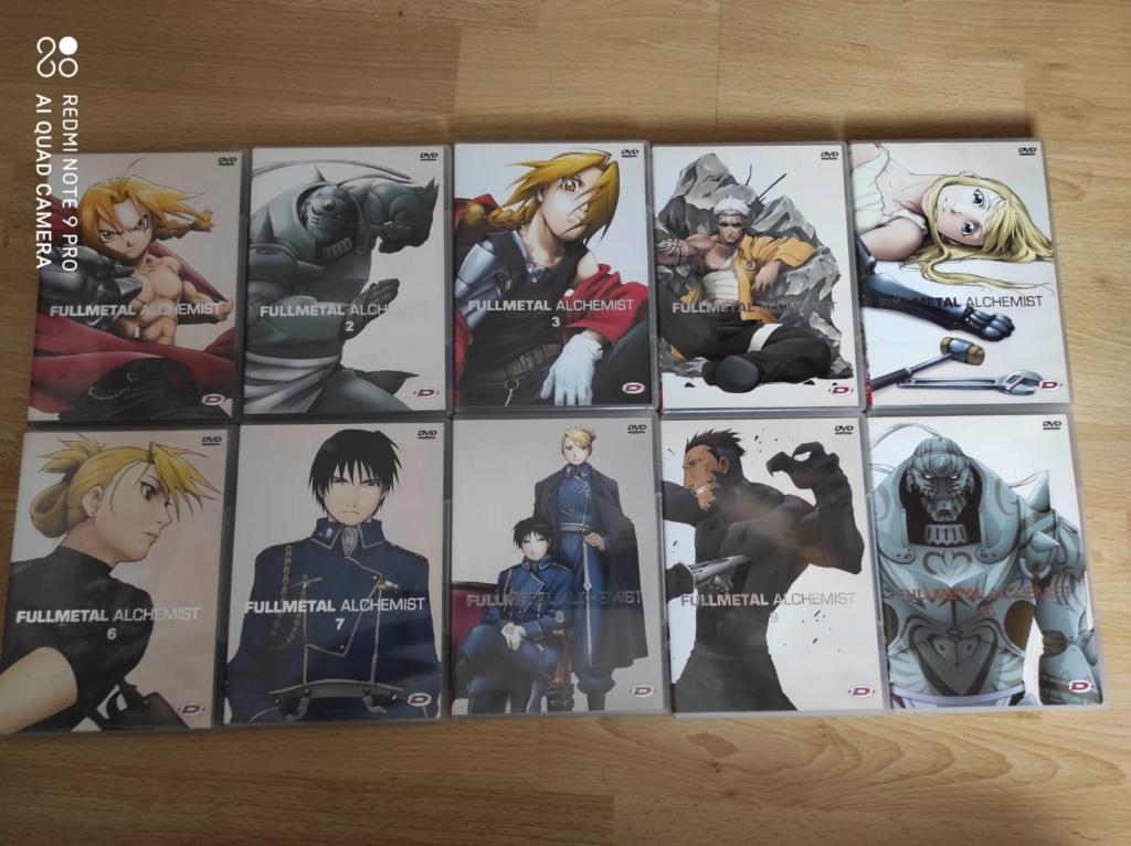 [VDS] Plusieurs lots dont intégrales séries tv/animes/dessins animes en dvd ou blu ray (voir descriptios) Fma10