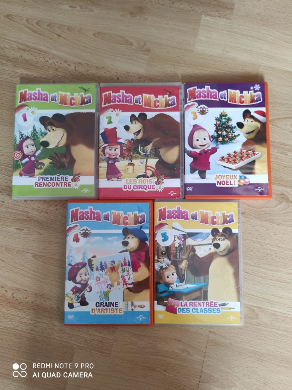 [VDS] Plusieurs lots dont intégrales séries tv/animes/dessins animes en dvd ou blu ray (voir descriptios) Masha10