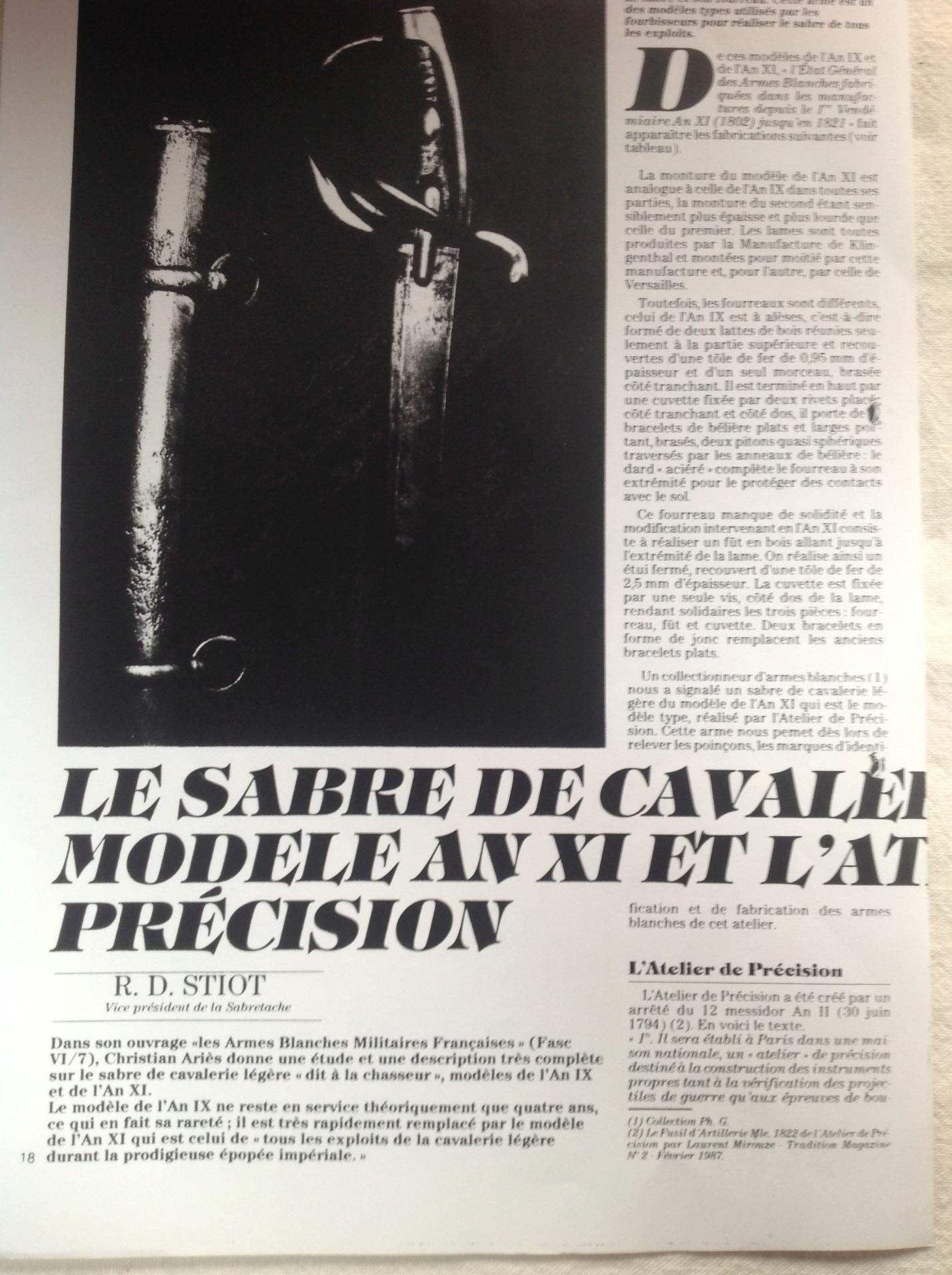 Sabre briquet des Ateliers de Paris Page_110