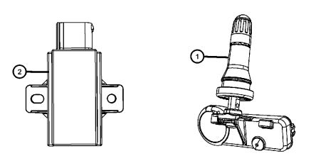 Sensor TPMS ativação 23-23-11