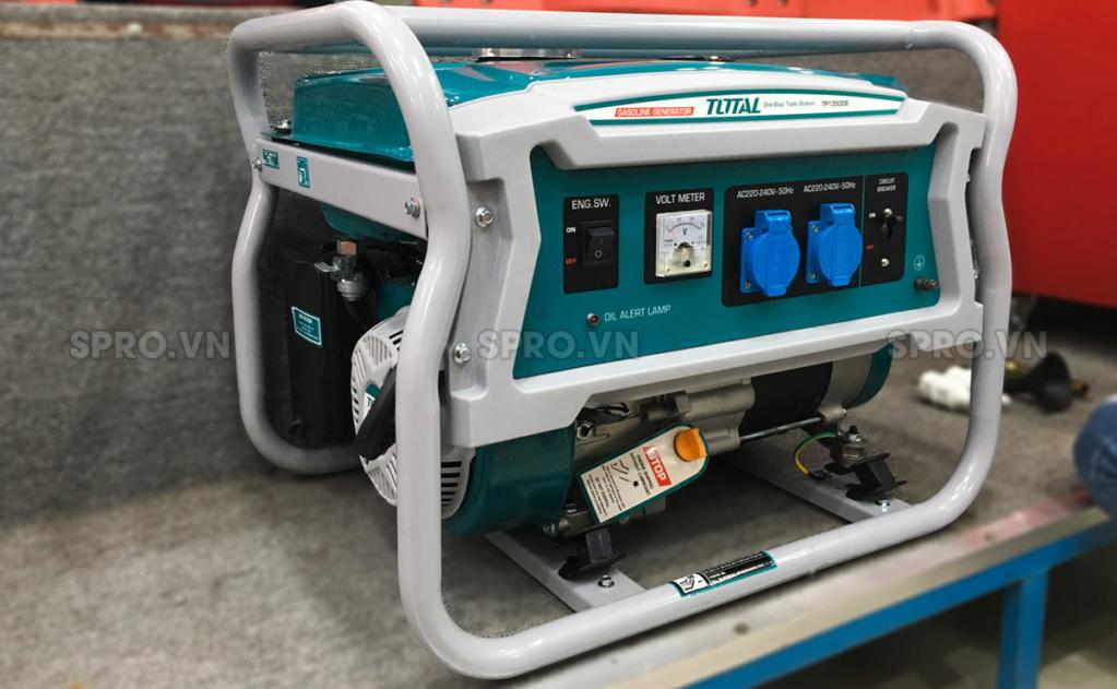 Toàn quốc - 0965 570 643 - Máy phát điện chạy xăng Total 3.5kw TP135006 - SPRO.VN H110