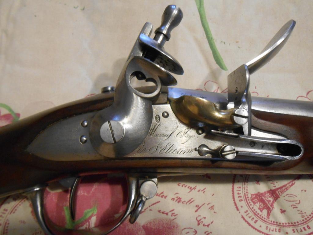 Présentation d'un Fusil 1777 corrigé AN IX 01210
