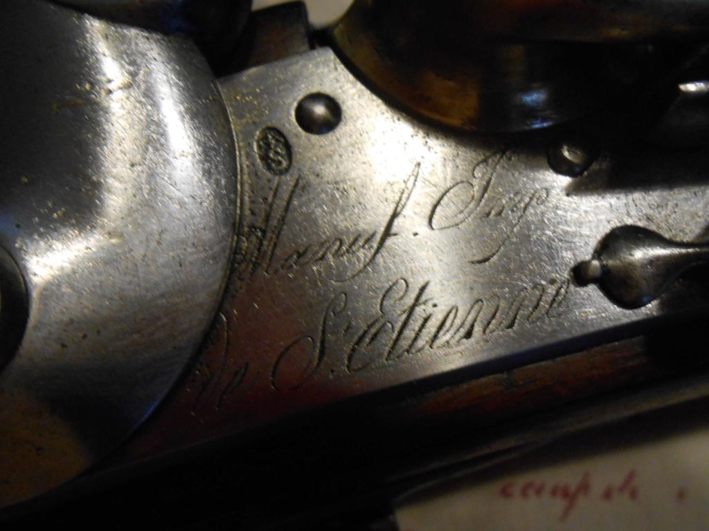 Présentation d'un Fusil 1777 corrigé AN IX 01310