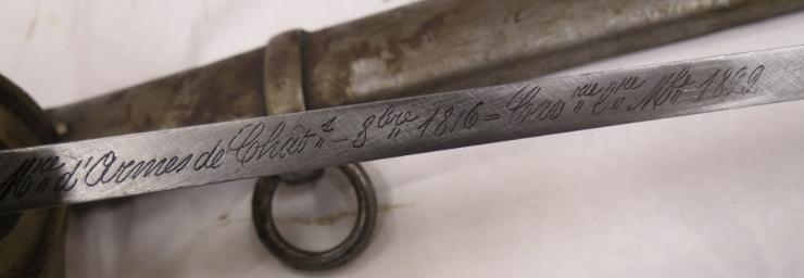 Drôle de marquage d'un sabre modèle 1822 ! 1822_d10