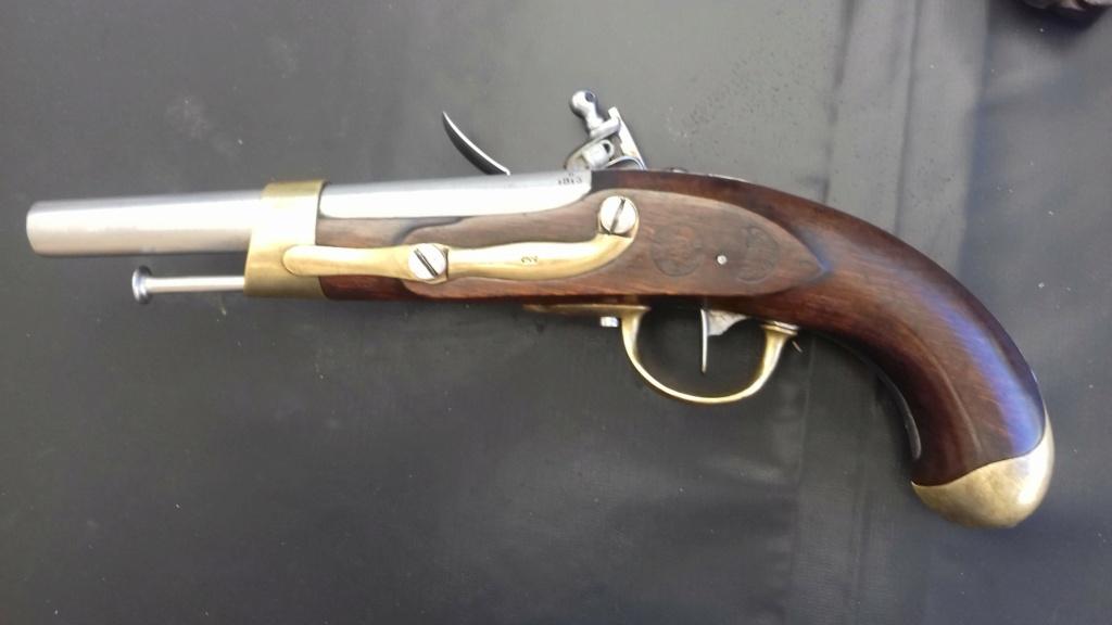 Présentation d'un pistolet de cavalerie AN XIII 20180827