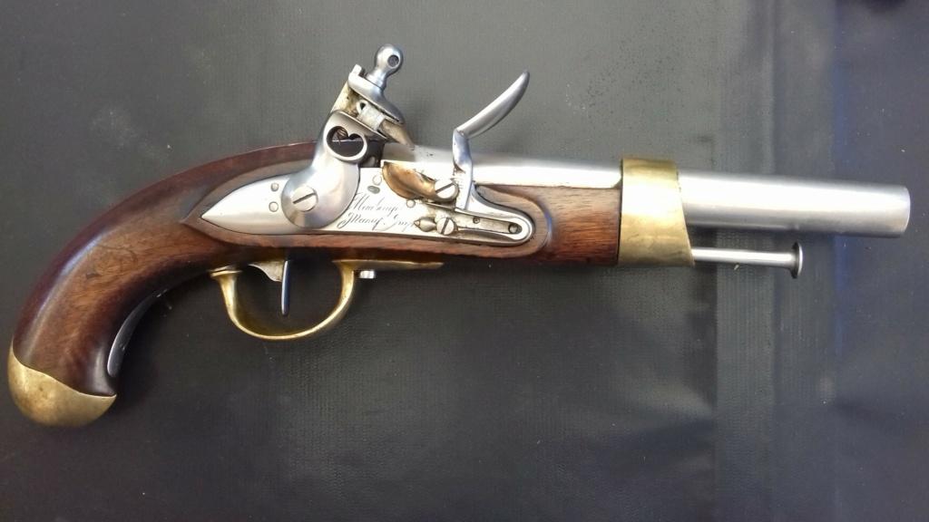 Présentation d'un pistolet de cavalerie AN XIII 20180829