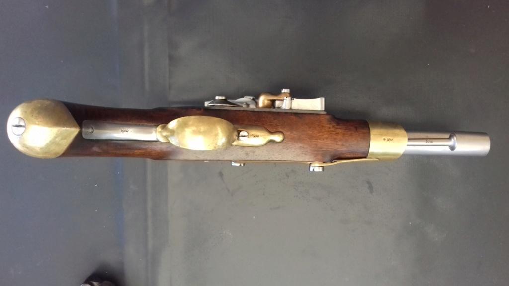 Présentation d'un pistolet de cavalerie AN XIII 20180830
