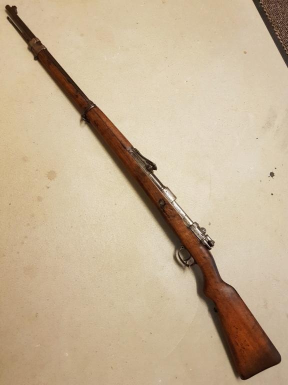 Présentation Gewehr 98 Danzig 20210215