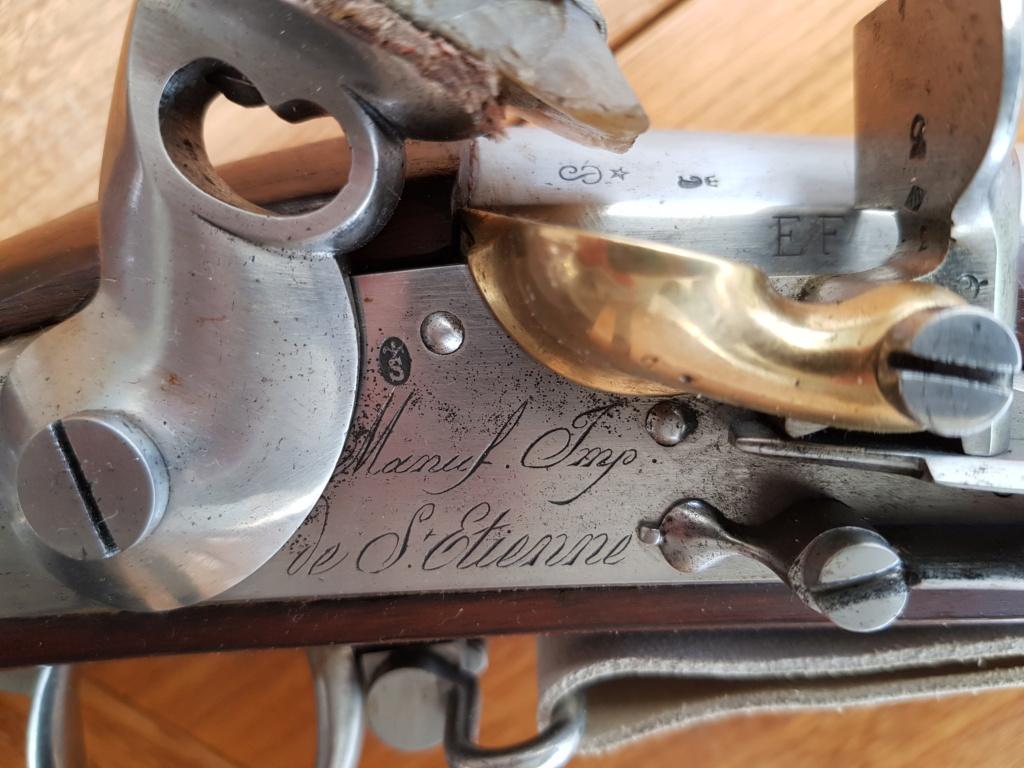 Présentation d'un Fusil 1777 corrigé AN IX 20210323