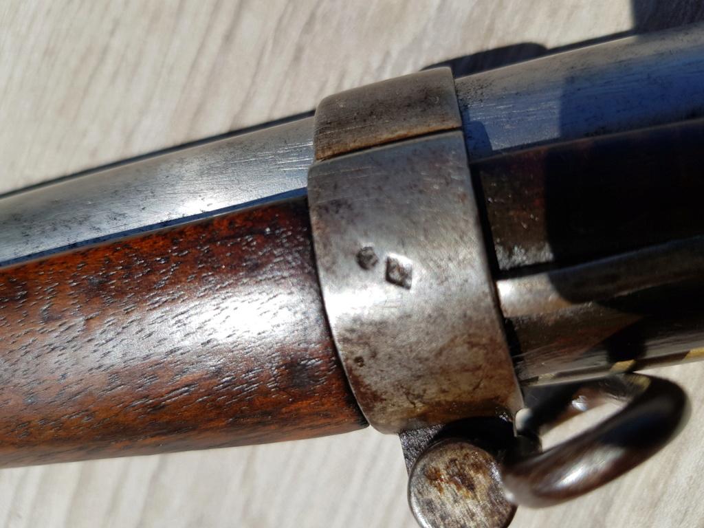 Présentation d'un fusil 1822 T bis 20210564