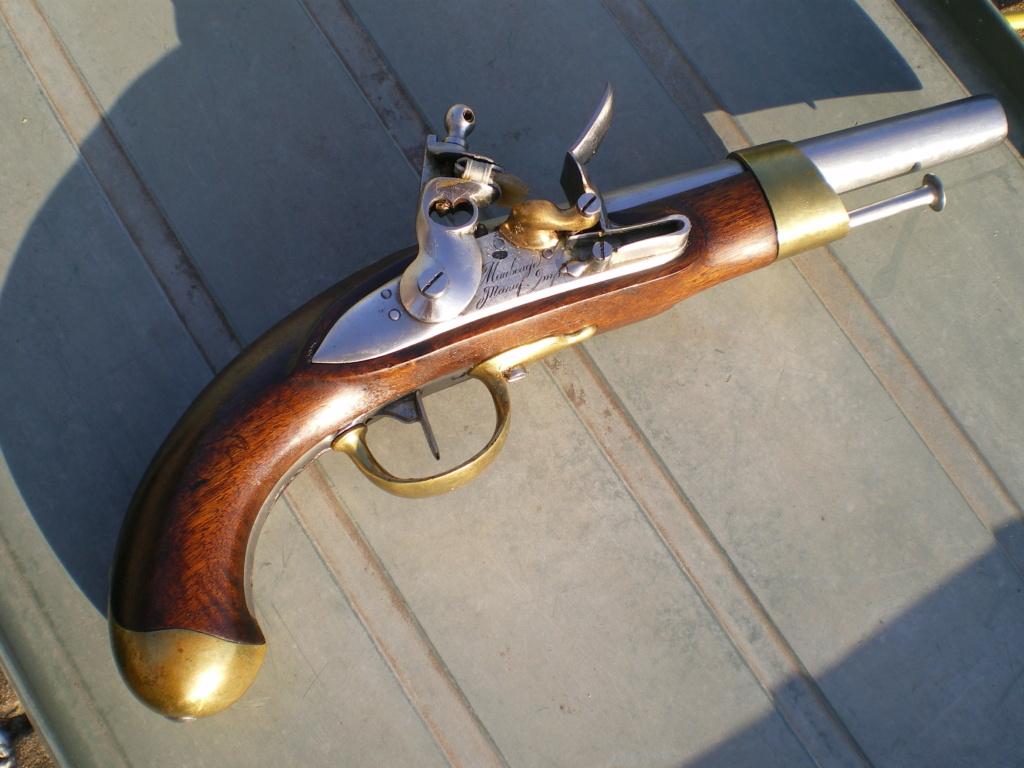 Présentation d'un pistolet de cavalerie AN XIII Imgp0127