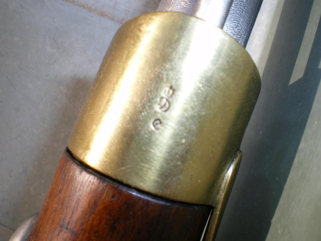 Présentation d'un pistolet de cavalerie AN XIII Imgp0129