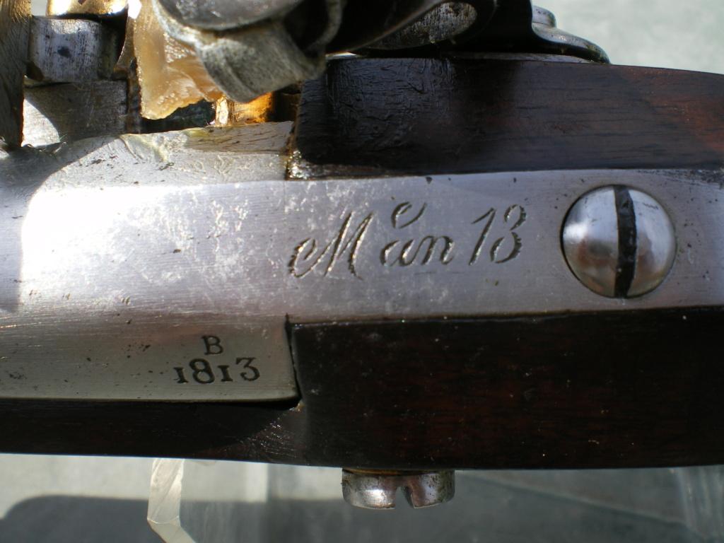 Présentation d'un pistolet de cavalerie AN XIII Imgp0132