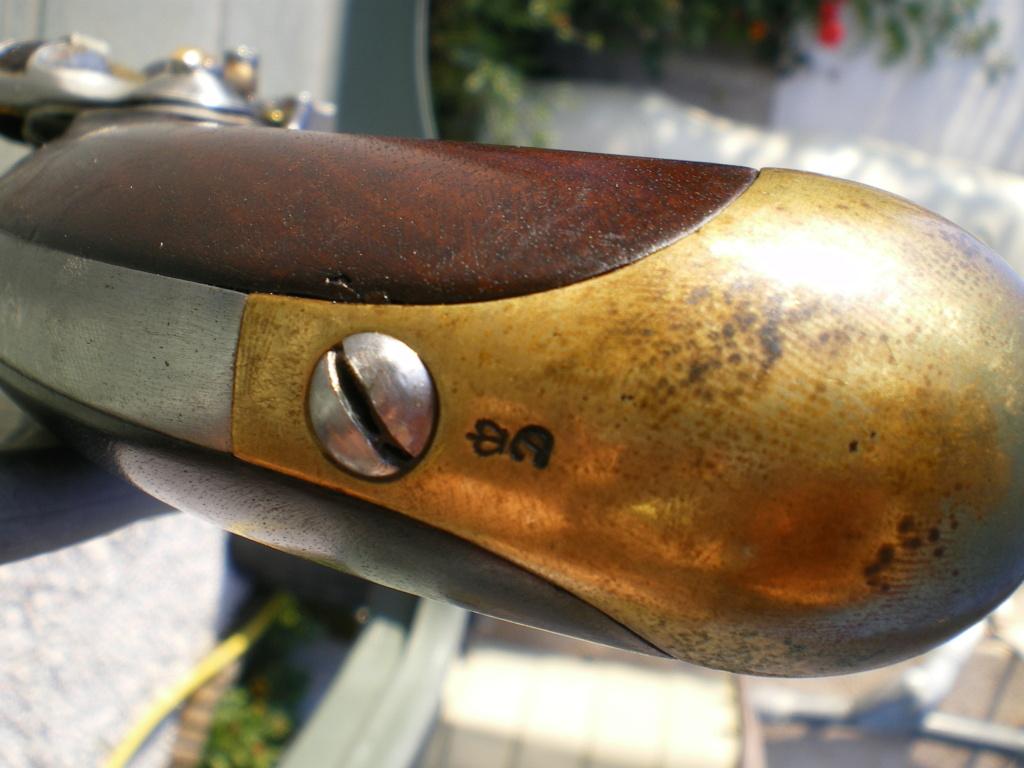 Présentation d'un pistolet de cavalerie AN XIII Imgp0133