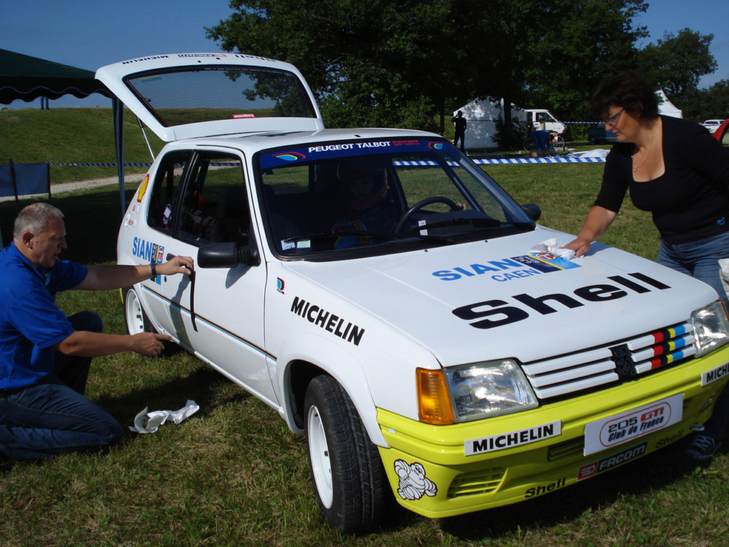 Réplique 205 rallye Inter clubs PTS 03210