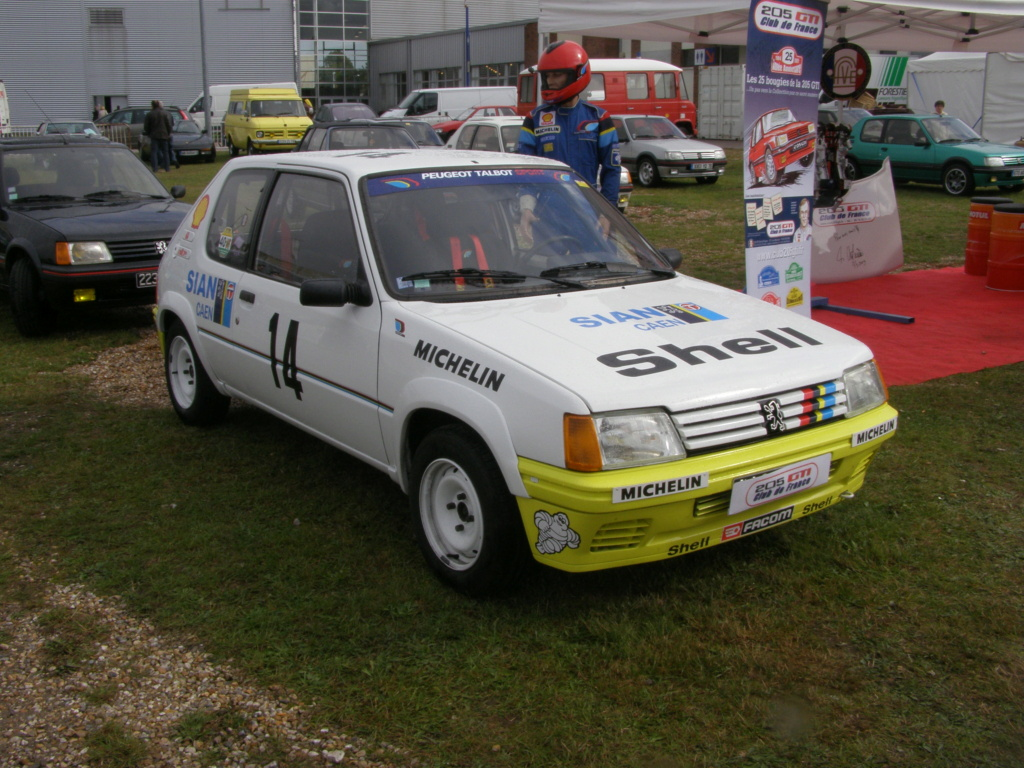 Réplique 205 rallye Inter clubs PTS 04011