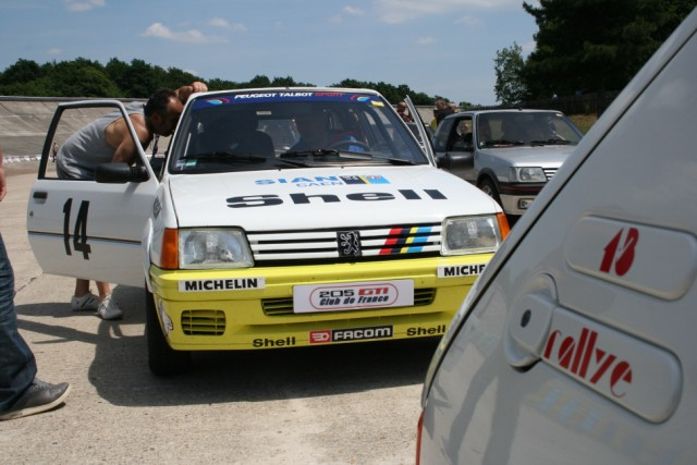 Réplique 205 rallye Inter clubs PTS 05010