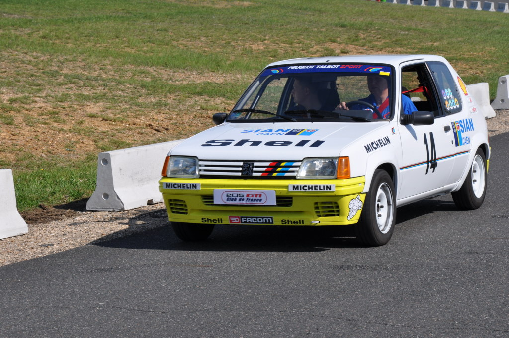Réplique 205 rallye Inter clubs PTS 05210