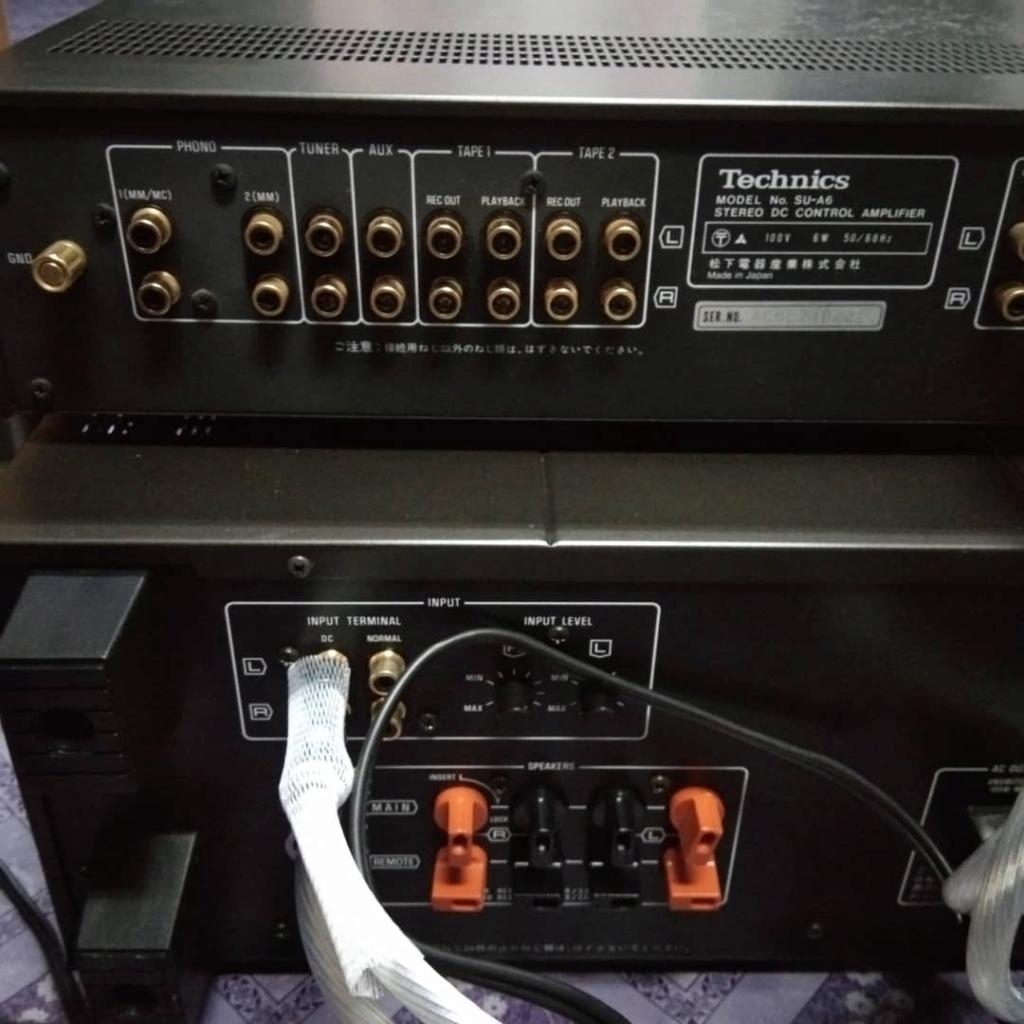 Technics A6 pre/A5 power Techni10