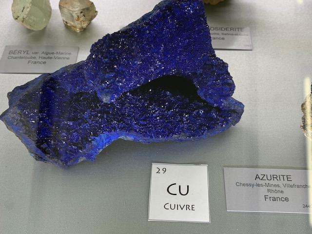 J'ai fais le musée de Minéralogie à Paris Img_2913