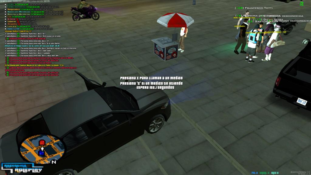 [Reporte]Gaston Nieva-Matar sin Motivos-Usar Equipamiento Policial sin Autorización-NRE-NIP Mta-sc23