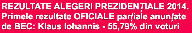 Les élections présidentielles roumaines / 2014 Captur10