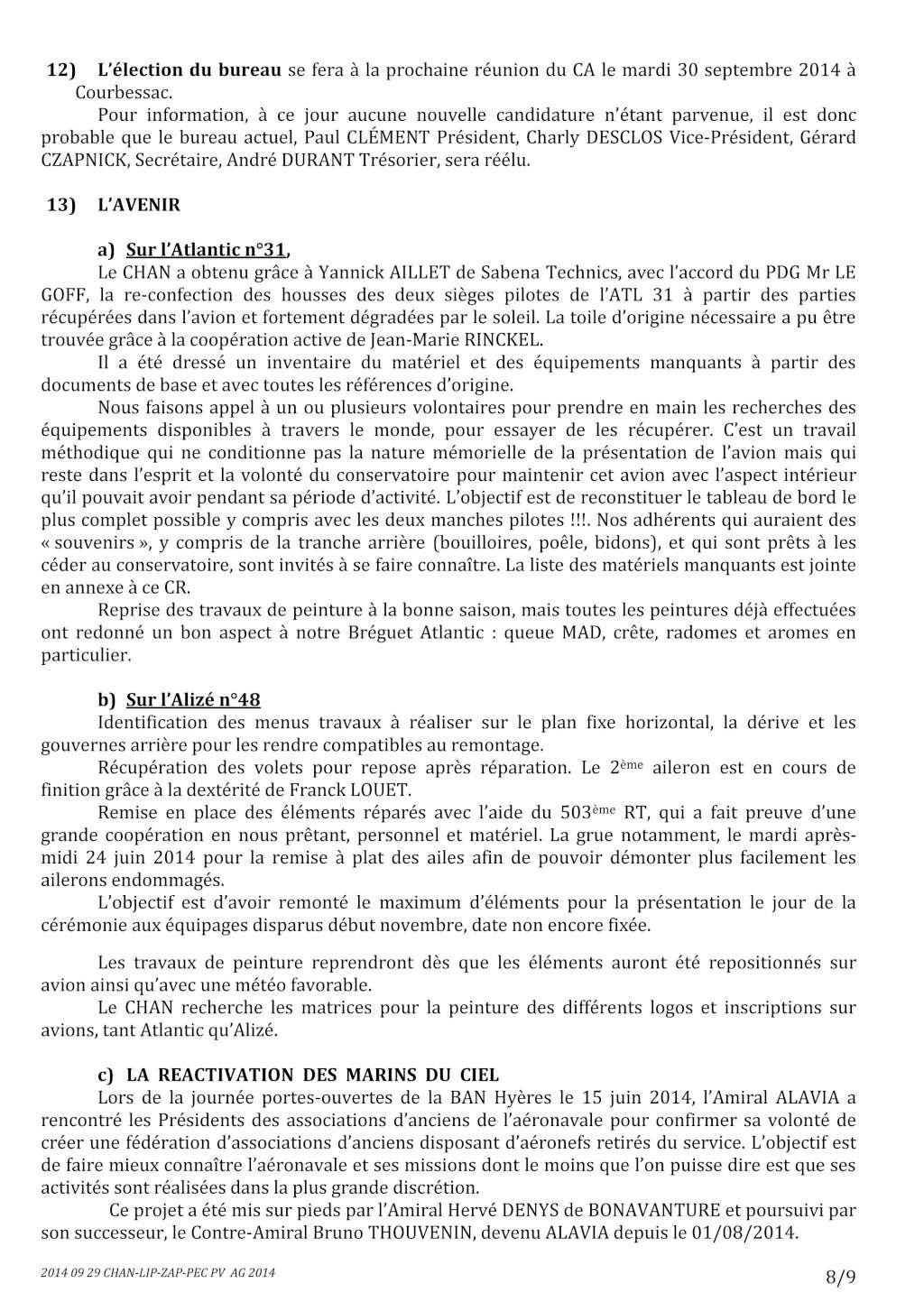 [Associations anciens marins] C.H.A.N.-Nîmes (Conservatoire Historique de l'Aéronavale-Nîmes) - Page 2 2014_030