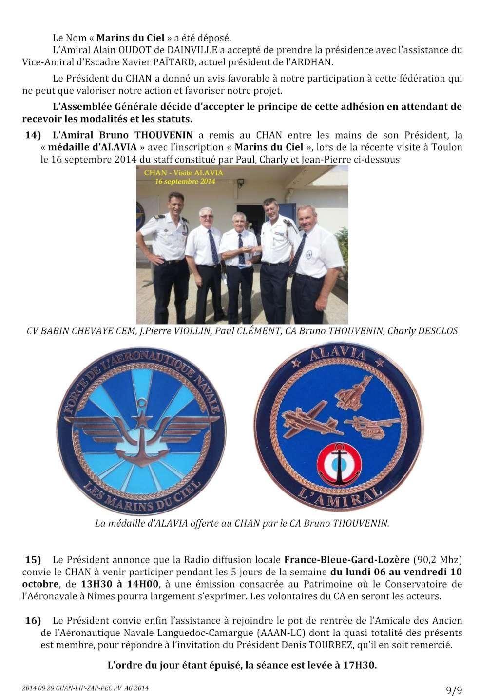 [Associations anciens marins] C.H.A.N.-Nîmes (Conservatoire Historique de l'Aéronavale-Nîmes) - Page 2 2014_031