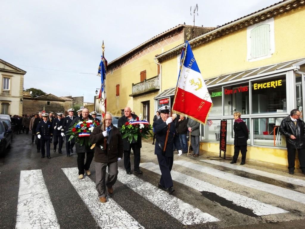 Cérémonie 11 novembre à Cabrières (Gard) 2014_115