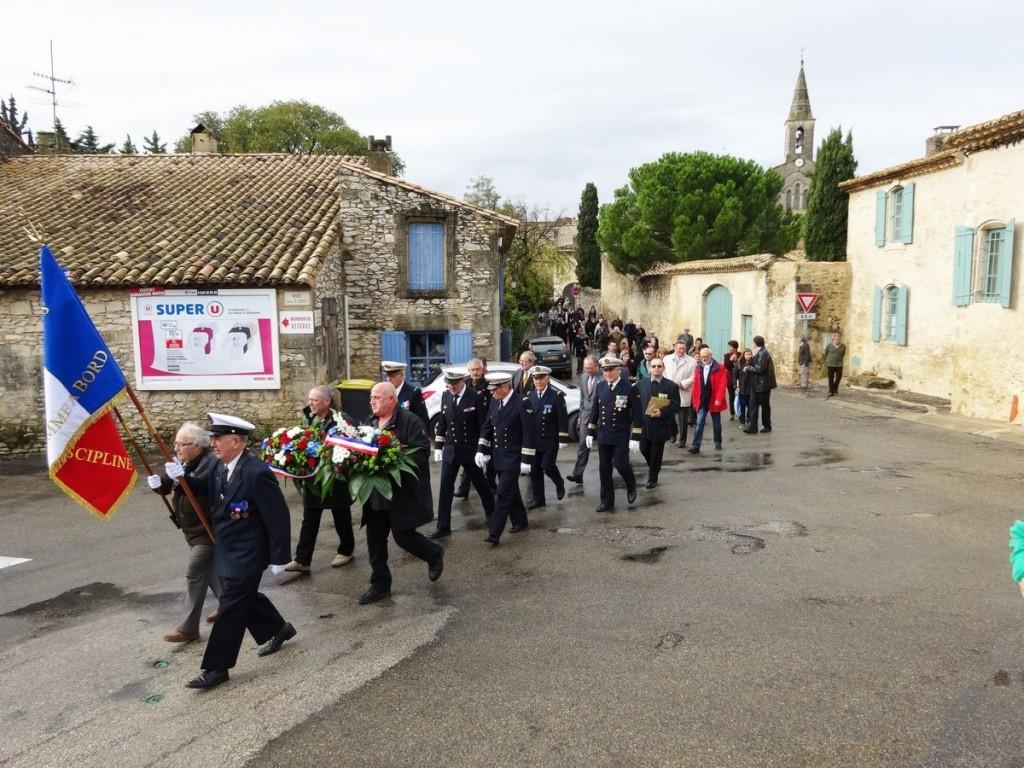 Cérémonie 11 novembre à Cabrières (Gard) 2014_117