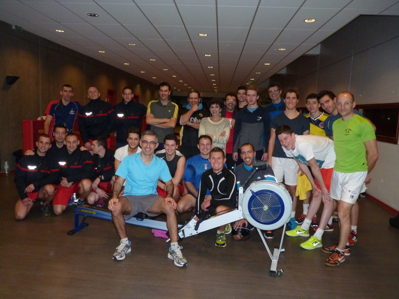 Marathon Rameur - Téléthon 2014 P1180510