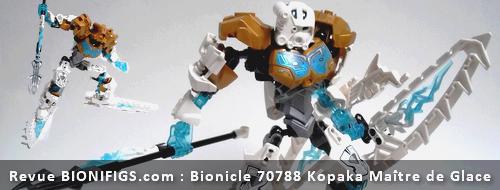 [Revue] LEGO Bionicle 70788 : Kopaka, Maitre de la Glace Actuko11